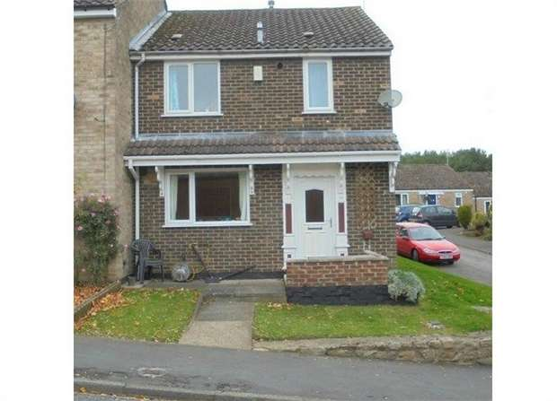 2 Bedrooms End Of Terrace House for sale in St Johns Walk, Escomb, Bishop Auckland, Durham
