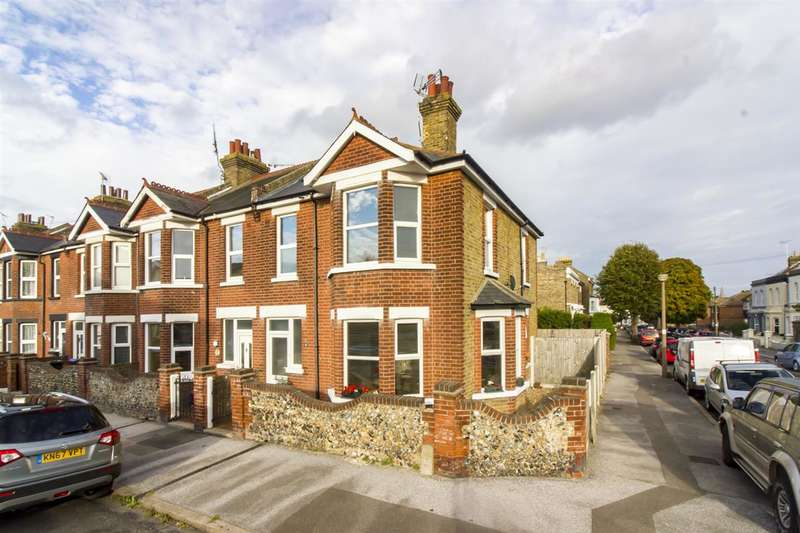 3 Bedrooms End Of Terrace House for sale in Napleton Road, Ramsgate
