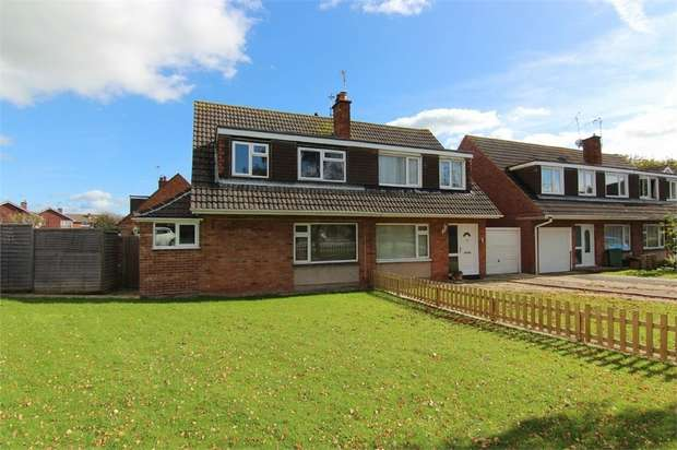 3 Bedrooms Semi Detached House for sale in The Orchard, North Somerset