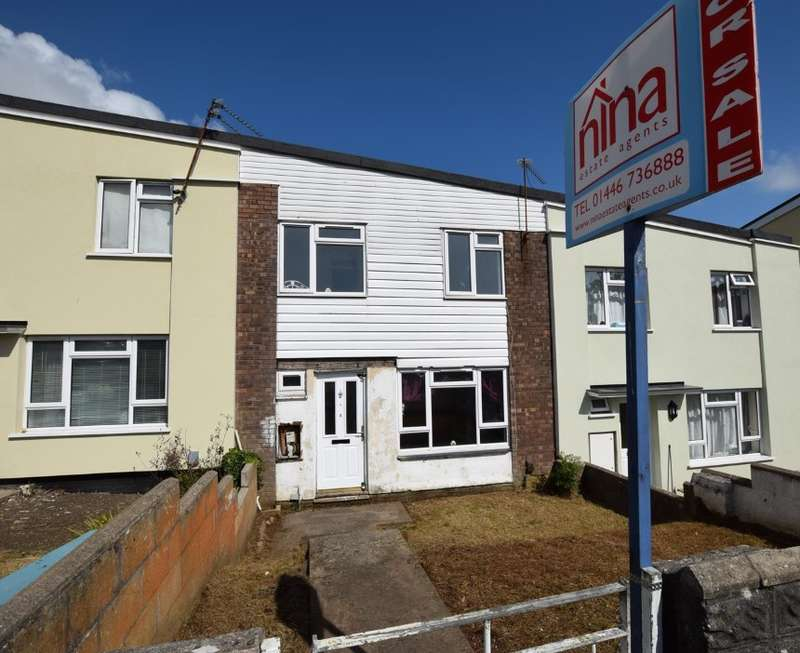 3 Bedrooms Terraced House for sale in Caldy Close, Laugharne Court, Barry, South Glamorgan, CF62 9DW