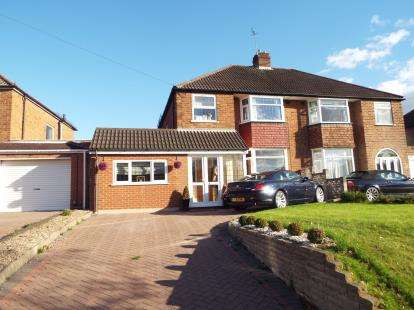 3 Bedrooms Semi Detached House for sale in Old Lode Lane, Solihull, West Midlands