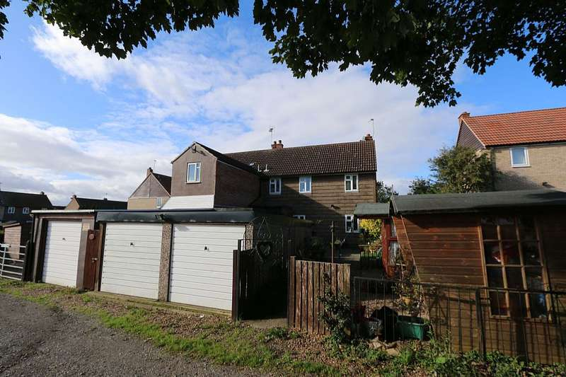 3 Bedrooms Semi Detached House for sale in Scarthingwell Crescent, Saxton, Tadcaster, North Yorkshire, LS24 9QE