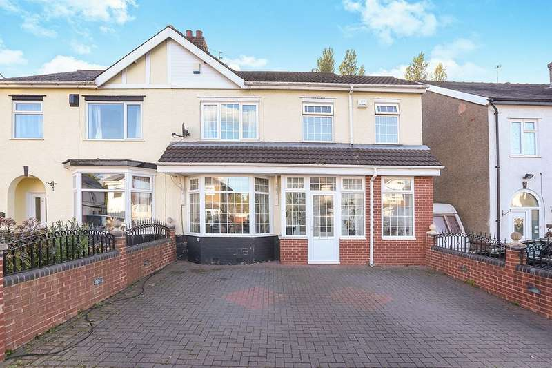 4 Bedrooms Semi Detached House for sale in Wynn Road, Wolverhampton, WV4