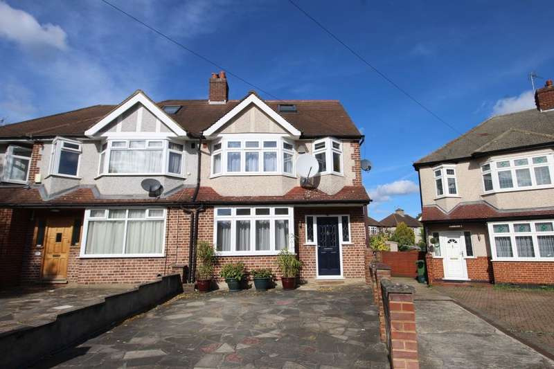 5 Bedrooms Semi Detached House for sale in Wydell Close, Morden, SM4