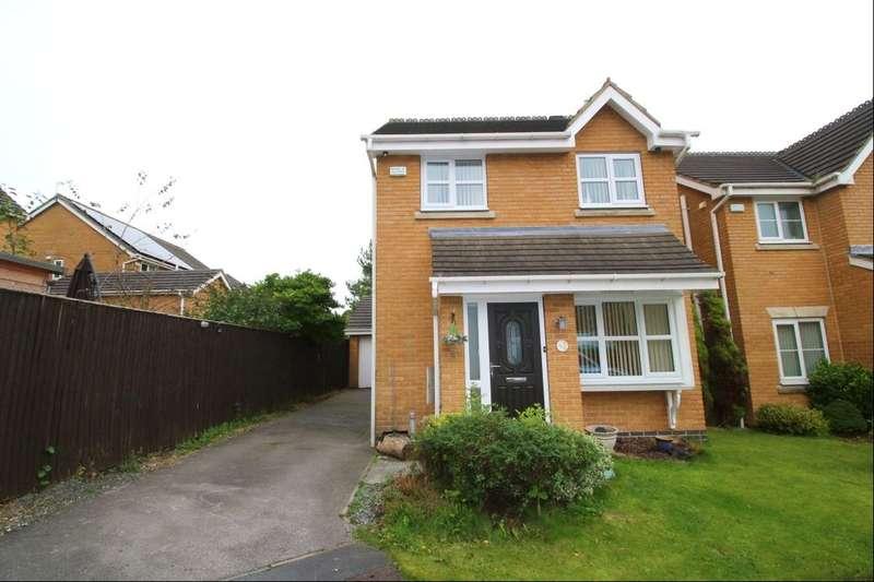 3 Bedrooms Detached House for sale in Knightsbridge Walk, Bradford, BD4