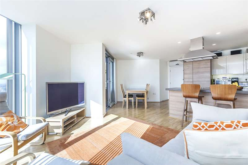 3 Bedrooms Flat for sale in Vertex Tower, 3 Harmony Place, London, SE8