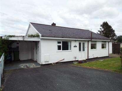 3 Bedrooms Bungalow for sale in Mawnog Fach, Bala, Gwynedd, LL23