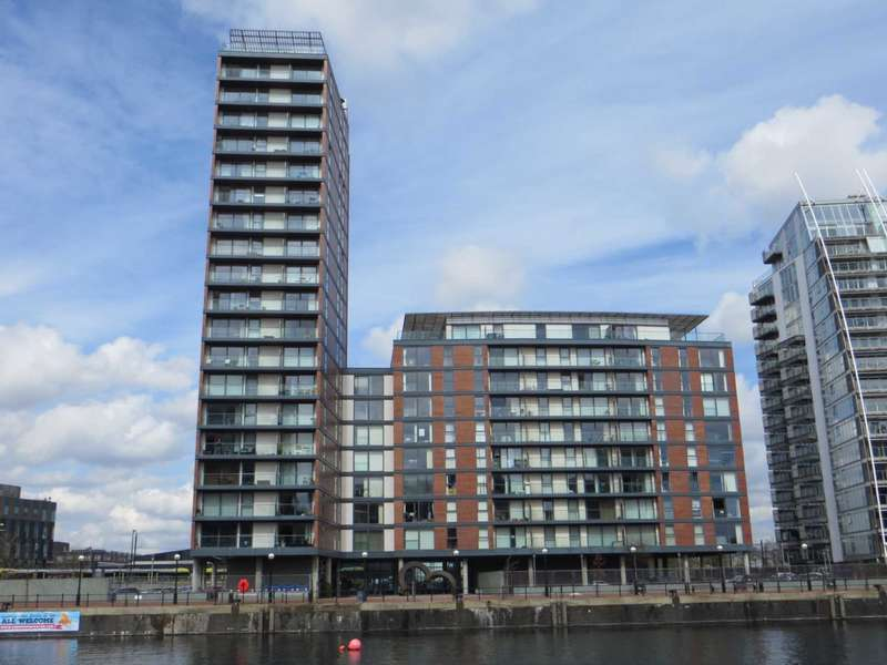 2 Bedrooms Apartment Flat for sale in City Lofts, 94 The Quays, Salford Quays, Manchester M50 3TZ