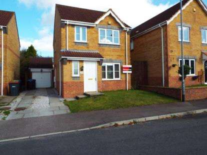 3 Bedrooms Detached House for sale in Acorn View, Kirkby-In-Ashfield, Nottingham, Notts