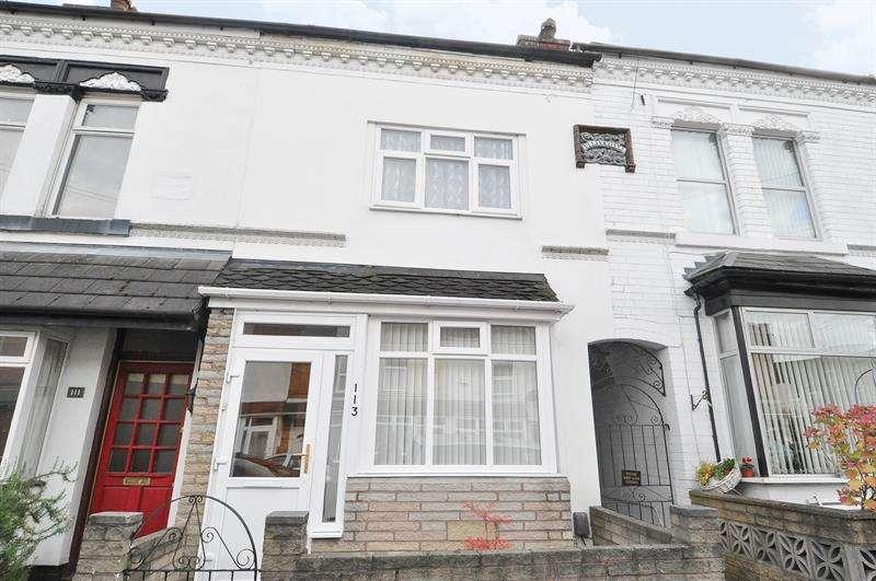 3 Bedrooms Terraced House for sale in Frances Road, Cotteridge, Birmingham