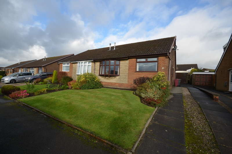 3 Bedrooms Semi Detached Bungalow for sale in Abbey Crescent, Darwen