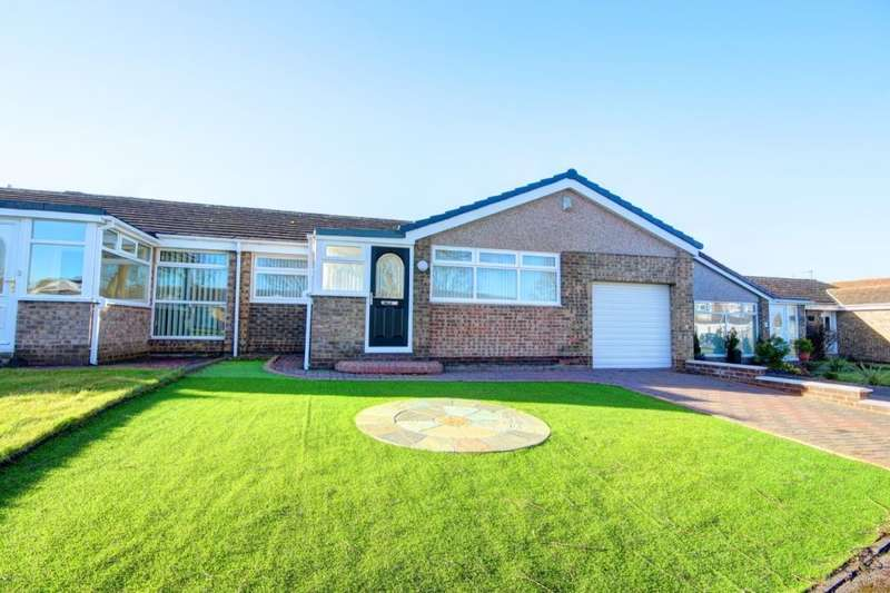 3 Bedrooms Semi Detached Bungalow for sale in St. Albans Close, Great Lumley, Chester Le Street, DH3