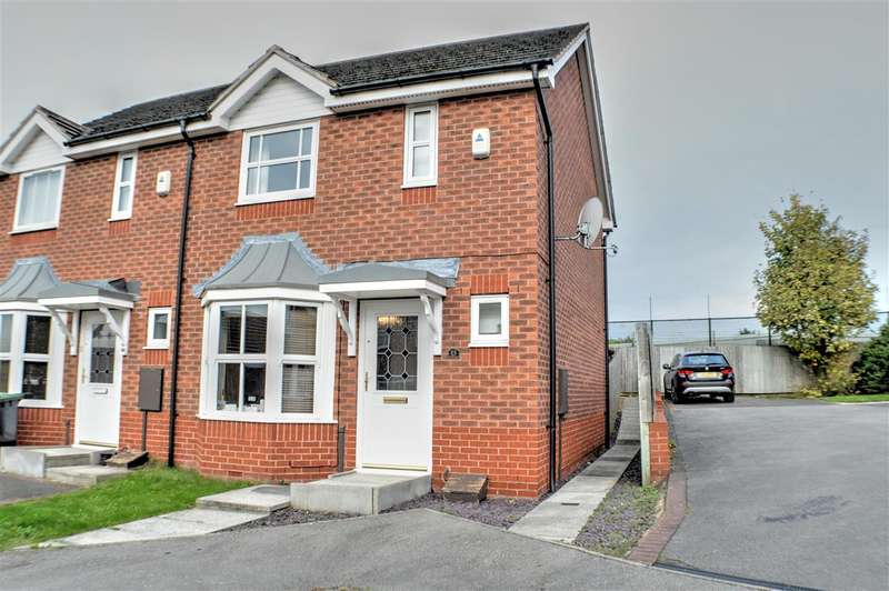2 Bedrooms Semi Detached House for sale in Endeavour Court, Sleaford