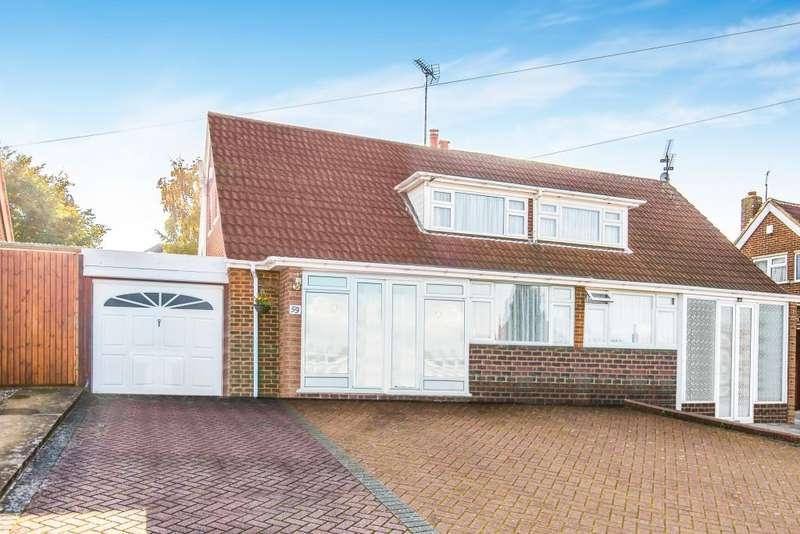 3 Bedrooms Semi Detached House for sale in Wadhurst Avenue, Luton, Bedfordshire, LU3