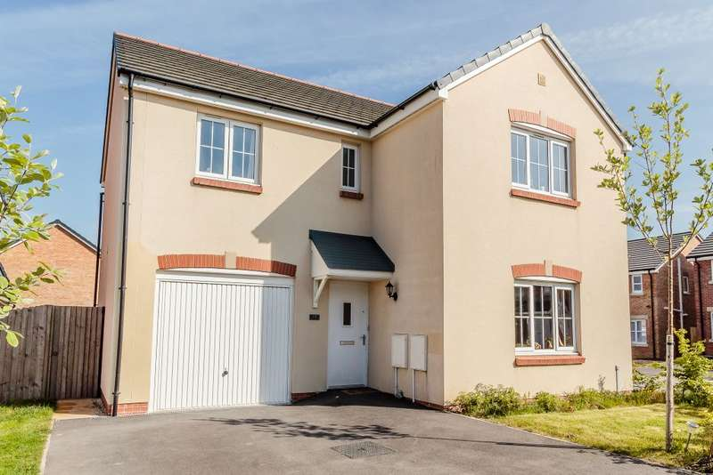 4 Bedrooms Detached House for sale in Ffordd Maes Gwilym,Kidwelly,Carmarthenshire SA17
