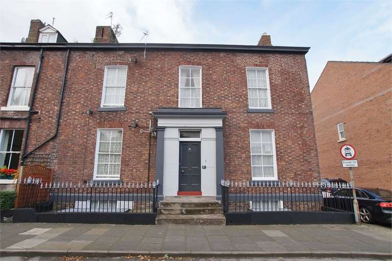 4 Bedrooms Town House for sale in CA1 1HT Compton Street, Carlisle, Cumbria