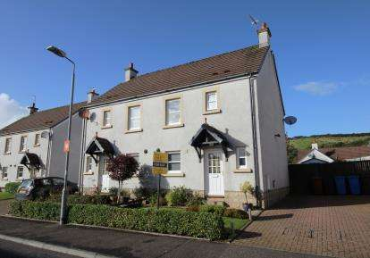 3 Bedrooms Semi Detached House for sale in Noddleburn Place, Largs