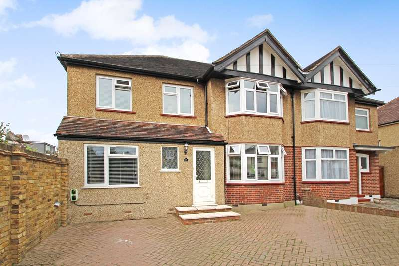 5 Bedrooms Semi Detached House for sale in Sandhurst Avenue, Surbiton