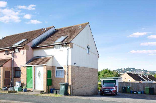 2 Bedrooms End Of Terrace House for sale in Howards Way, Newton Abbot, Devon