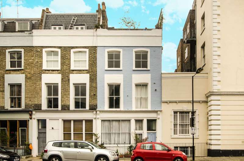 3 Bedrooms Flat for sale in Shrewsbury Road, Notting Hill, W2