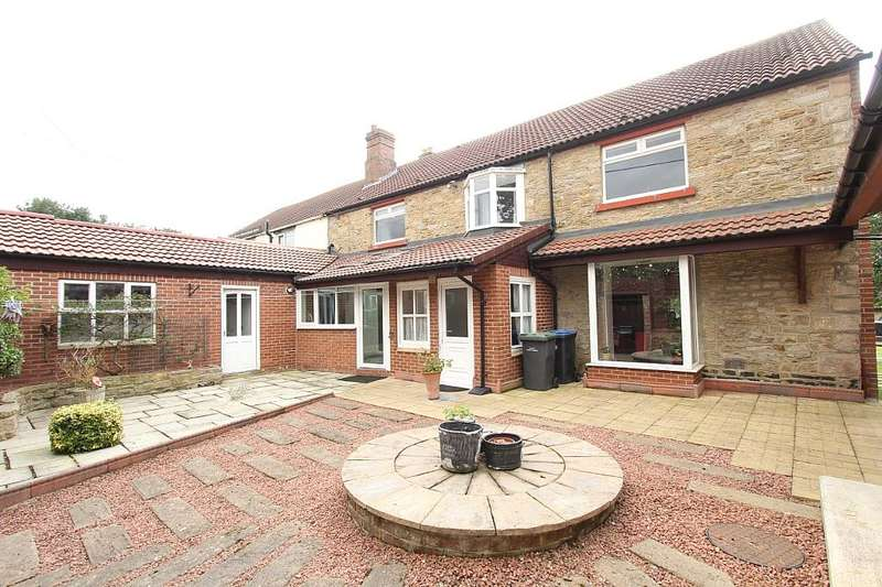 5 Bedrooms Semi Detached House for sale in Highlea House, 143 Gurney Valley, Close House, Bishop Auckland, Durham, DL14 8RP