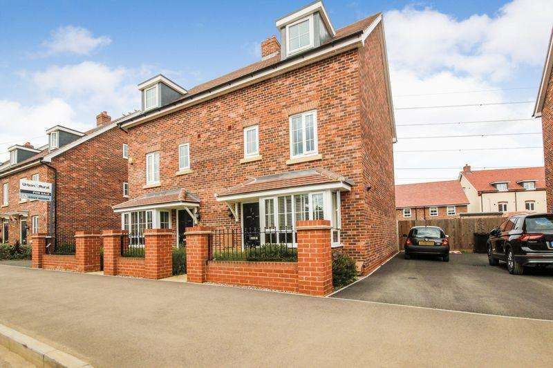 4 Bedrooms Terraced House for sale in Gold Furlong, Marston Moretaine