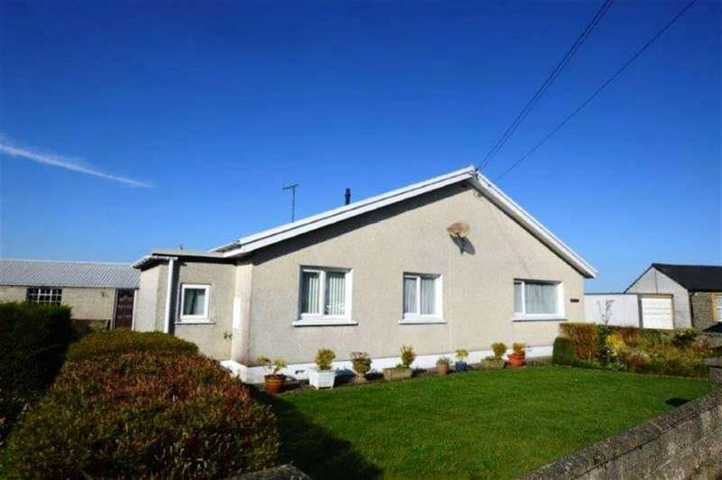 3 Bedrooms Detached Bungalow for sale in Rhyd Y Felin, Station Road, Tregaron, Ceredigion, SY25