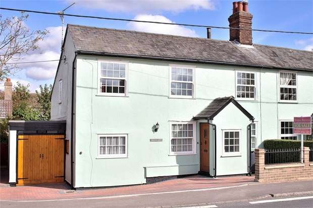 4 Bedrooms Semi Detached House for sale in Barnston, Dunmow, Essex