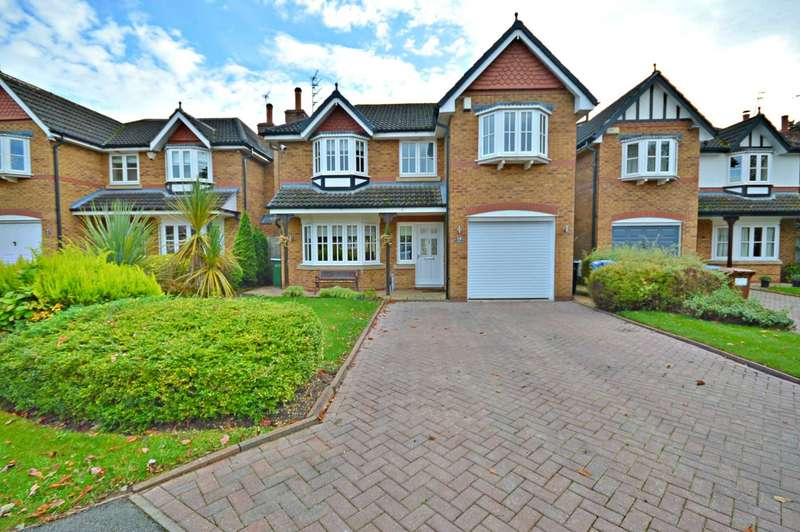 4 Bedrooms Detached House for sale in Oakleigh Road, Cheadle Hulme