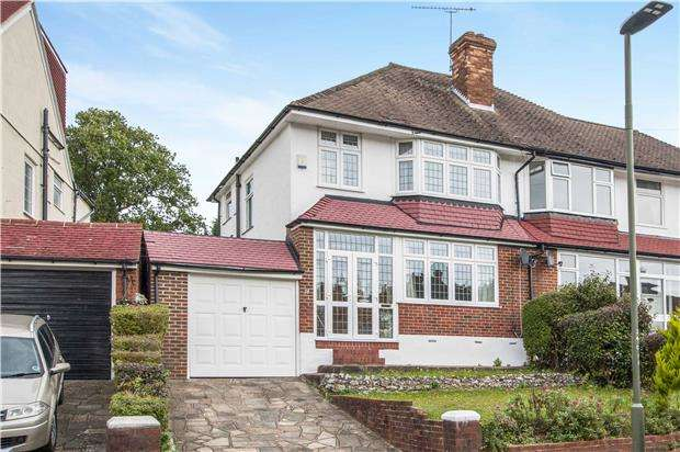 3 Bedrooms Semi Detached House for sale in Cloonmore Avenue, ORPINGTON, Kent, BR6