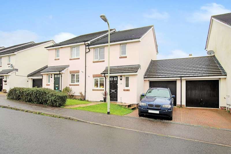 3 Bedrooms Semi Detached House for sale in Buckland Close, Bideford
