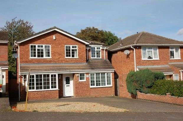 4 Bedrooms Detached House for sale in Underbank Lane, Moulton, Northampton NN3 7HH