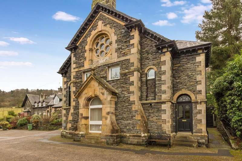 2 Bedrooms Ground Flat for sale in 3 Chapel Court, Troutbeck, Windermere, Cumbria, LA23 1PE