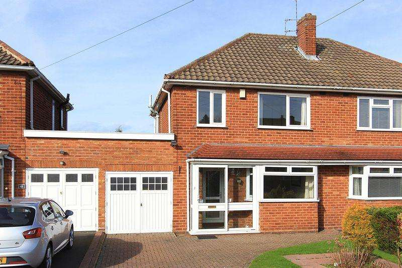 3 Bedrooms Semi Detached House for sale in PALMERS CROSS, Derwent Road