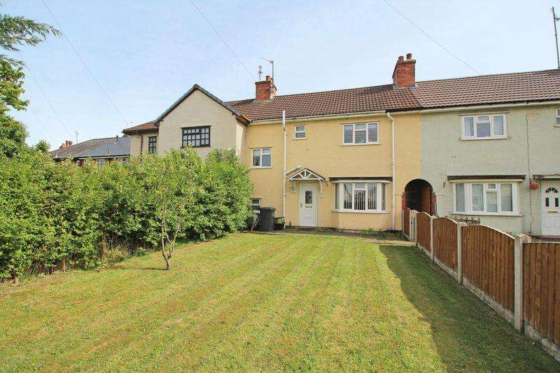 3 Bedrooms Terraced House for sale in Ewart Street, Chirk