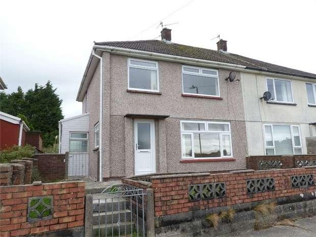 3 Bedrooms Semi Detached House for sale in Brynmawr, Bettws, Bridgend, Mid Glamorgan