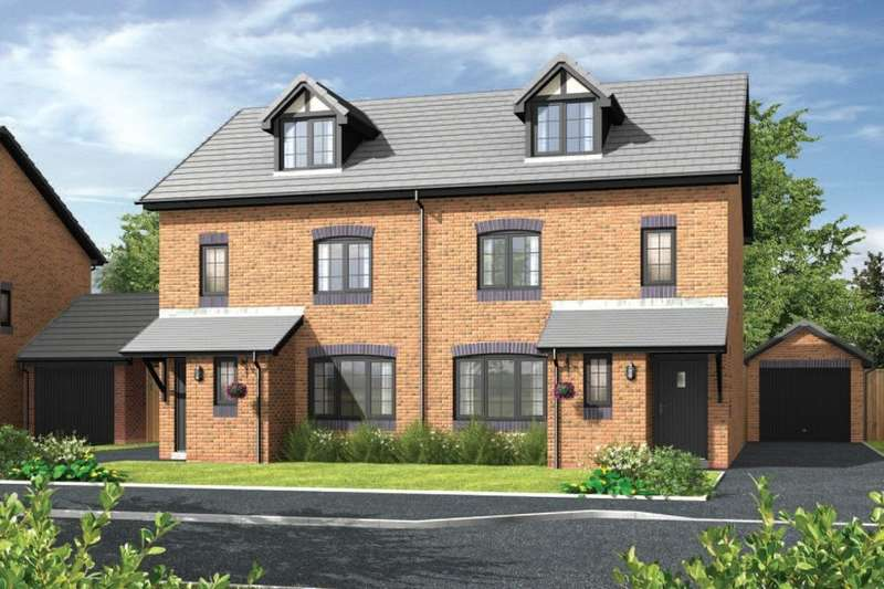 4 Bedrooms Semi Detached House for sale in Daneside Park Forge Lane, Congleton, CW12