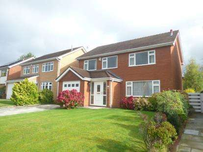 4 Bedrooms Detached House for sale in Balmoral Road, Widnes, Cheshire, WA8