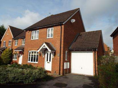3 Bedrooms Detached House for sale in Wynwards Road, Abbey Meads, Swindon, Wiltshire