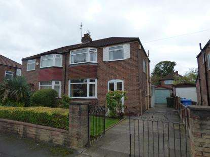 3 Bedrooms Semi Detached House for sale in Newlyn Drive, Sale, Manchester