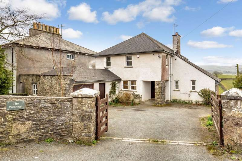 4 Bedrooms Detached House for sale in The Vicarage, Grayrigg, Kendal, Cumbria, LA8 9BU