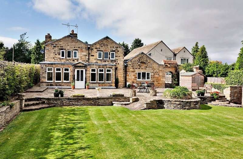 4 Bedrooms Detached House for sale in Manor Farm House, Thorner Lane, Scarcroft, LS14