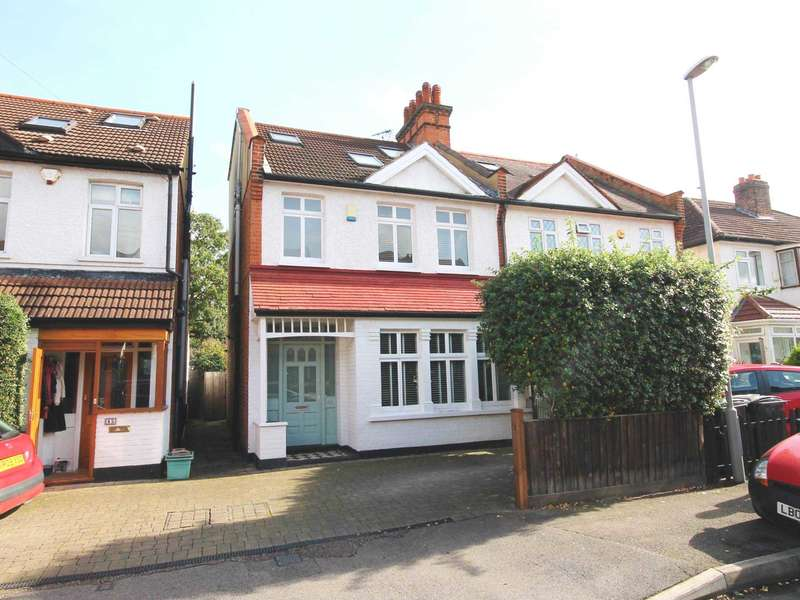 5 Bedrooms Semi Detached House for sale in Cleveland Road, New Malden