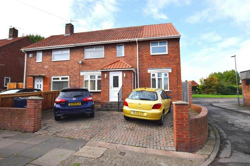 4 Bedrooms Semi Detached House for sale in Lobley Hill