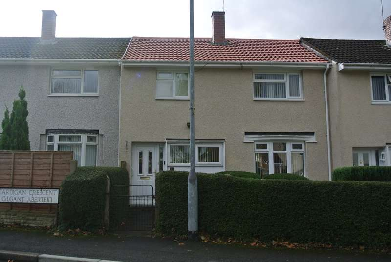 2 Bedrooms Terraced House for sale in Cardigan Crescent, Croesyceiliog, Cwmbran, NP44