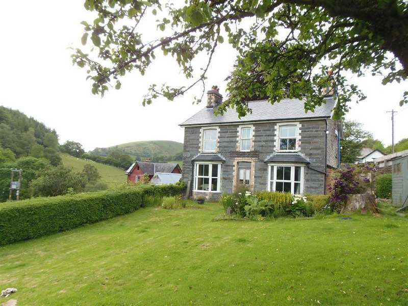4 Bedrooms Detached House for sale in Bodawel, Aberangell, Nr Machynlleth, Powys, SY20