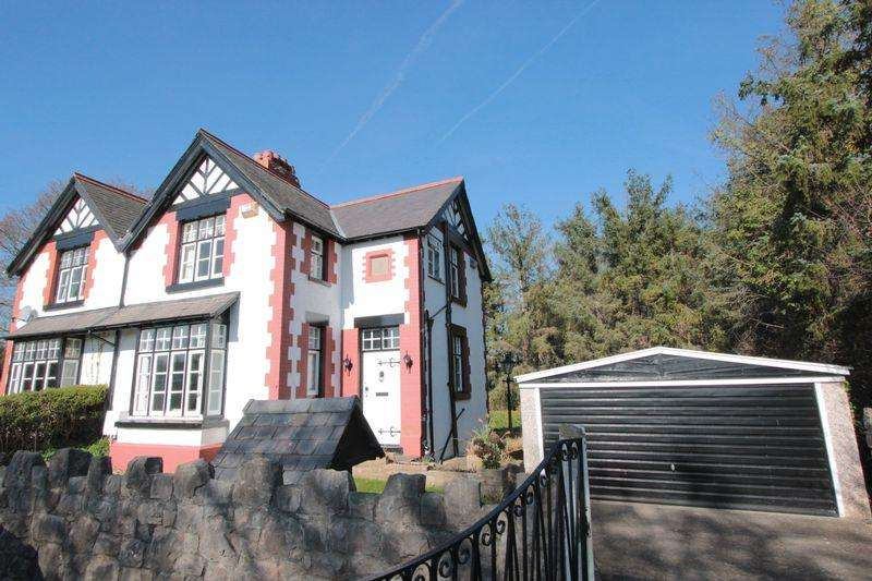 3 Bedrooms Semi Detached House for sale in Trefnant, Denbigh
