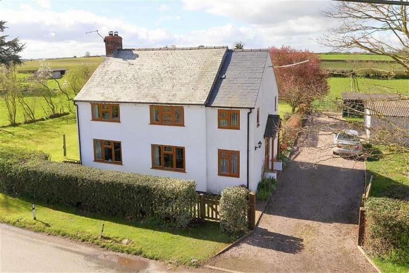 3 Bedrooms Detached House for sale in Cadney Lane, Bettisfield, SY13