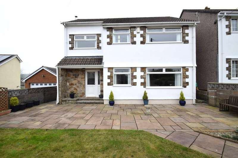 4 Bedrooms Detached House for sale in Ty Hardd, Morse Row, Bryncethin, Bridgend, Bridgend County Borough, CF32 9TP.