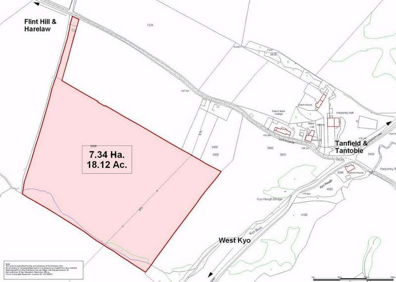 Land Commercial for sale in Bushblades Lane, Tantobie, Stanley, County Durham